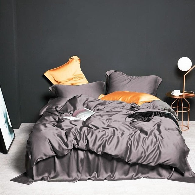 Burnt Coffee Bedding Set