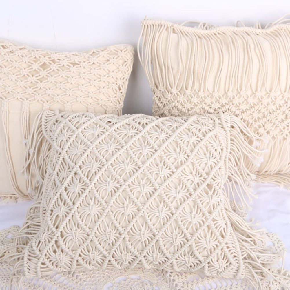 Macramé Cushion Covers
