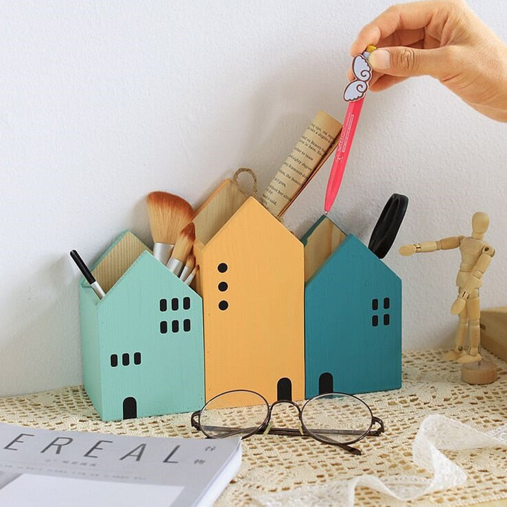 House Desk Organizer