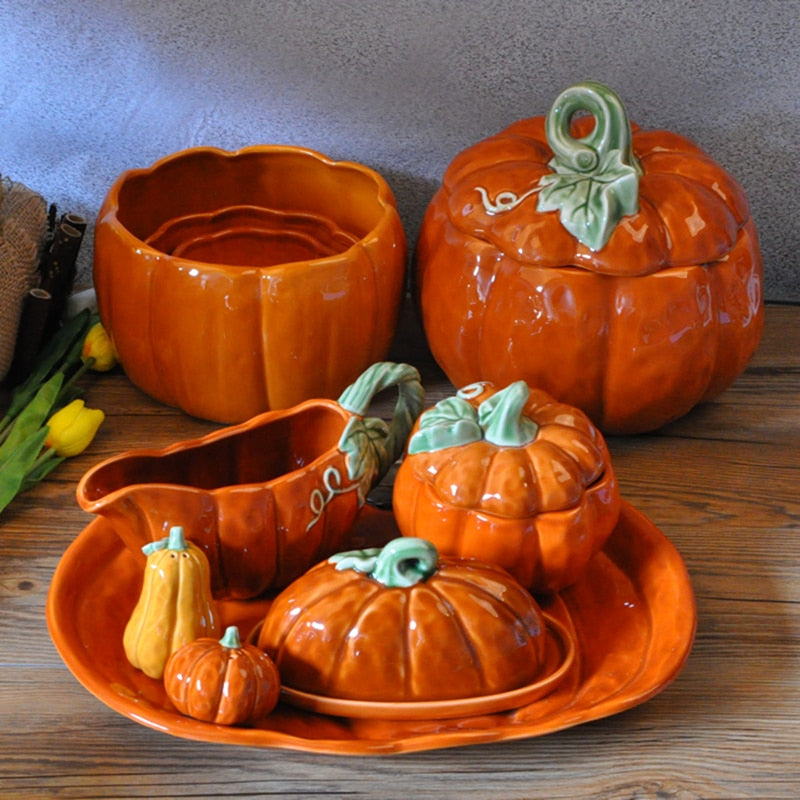 Pumpkin Tableware