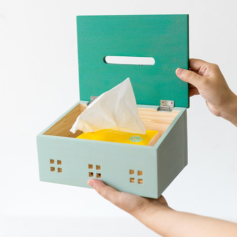 House Tissue Box