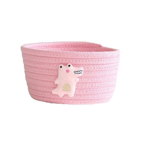 Cute Cotton Rope Storage Baskets