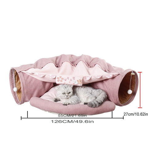 Pet Tunnel House