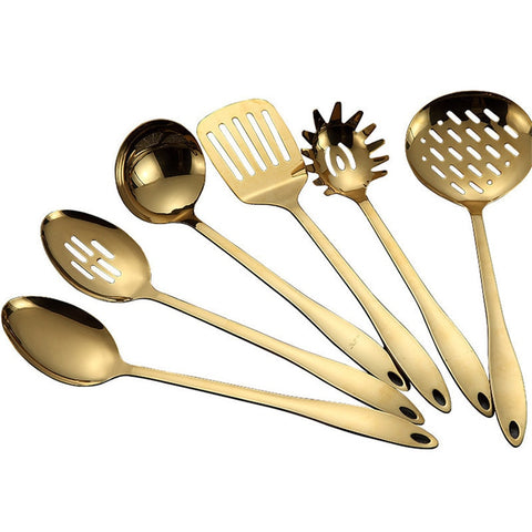 Gold Cooking Tools