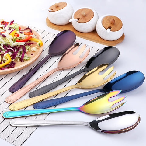 Colorful Spoon And Fork Set