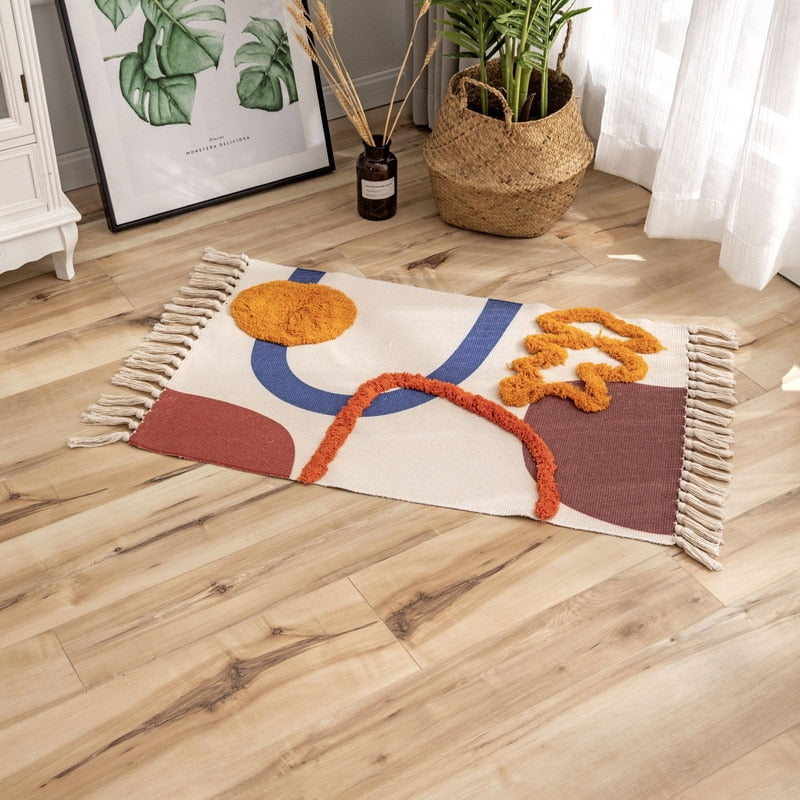Colorful Abstract Rug