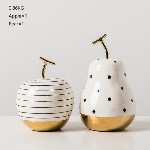 Pear Apple Decor