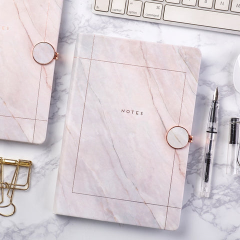 Notes Marble Notebook
