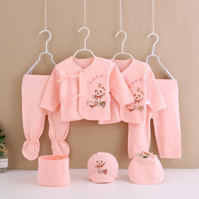 Colorful Baby Clothing Set
