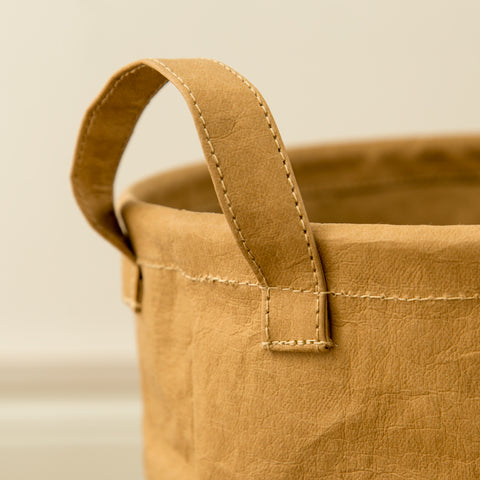 Brown Laundry Basket