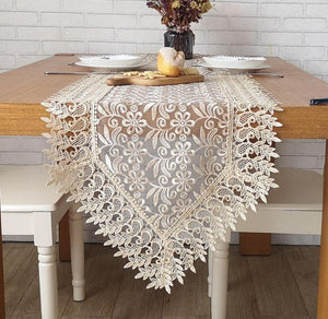 Embroidered Table Runner