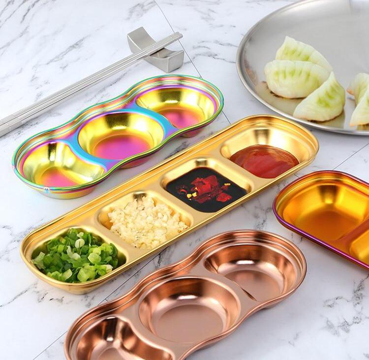 Colorful Small Grid Dish