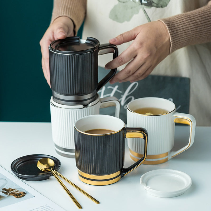 Stripe Ceramic Mug