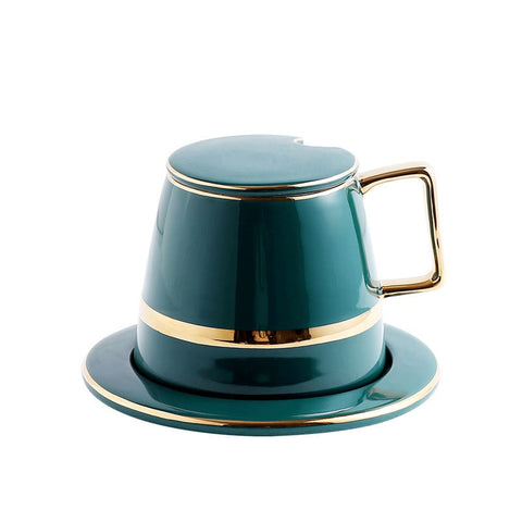 Green Cup Set