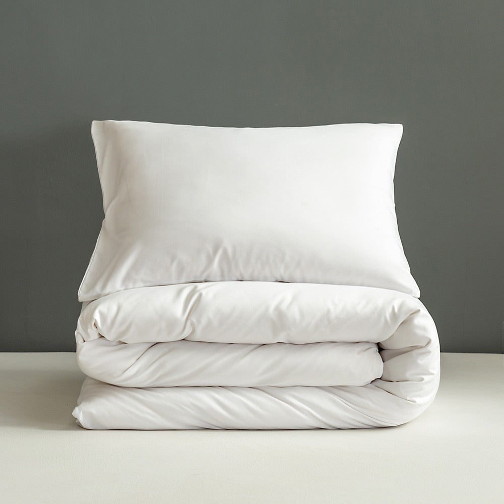 White Soft Pillowcases Set