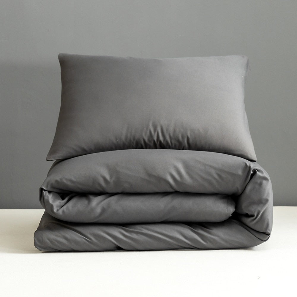 Grey Pillowcase Set