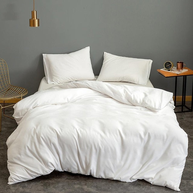 White Quilt Bed Cover