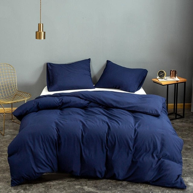Blue Quilt Bed Cover