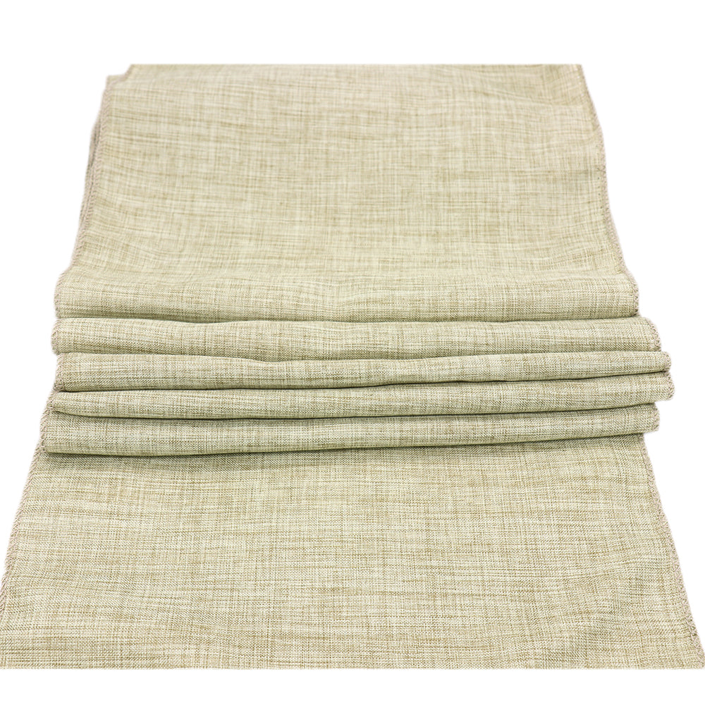 Beige Natural Rustic Table Runner