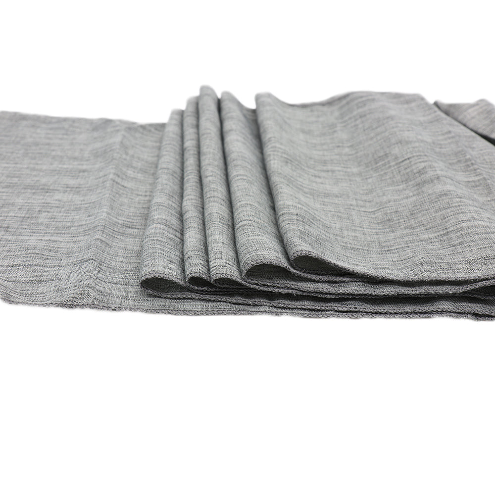 Gray Natural Table Runner