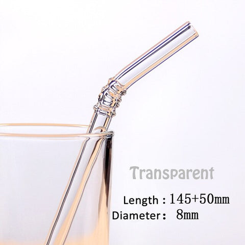 Glass Straw Set