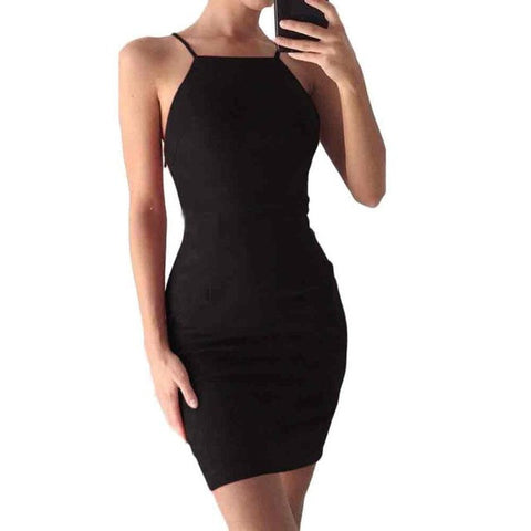 Velvet Bodycon Party Dress
