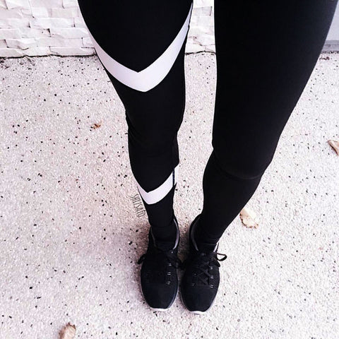 Sports Cropped Leggings-This Fashion Woman