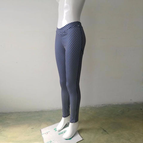 Stretch Skinny Dot Leggings