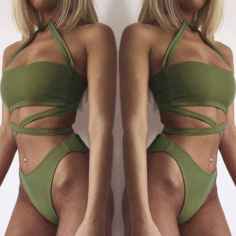 Bandage Styled Bikini-This Fashion Woman