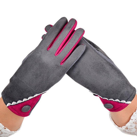 Velvet Winter Warm Gloves-This Fashion Woman