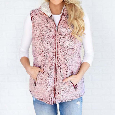 Sherpa Fleece Jacket-This Fashion Woman