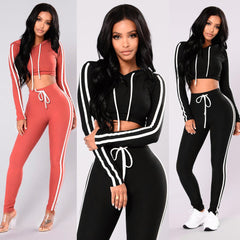 Top+Pants Sport Wear Set-This Fashion Woman