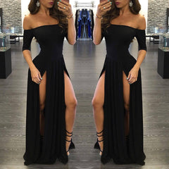 Evening Long Dress-This Fashion Woman