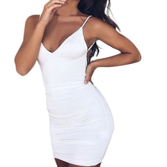 Strappy Slim Party Dress-This Fashion Woman