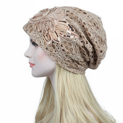 Lace Knitted Beanies Hat-This Fashion Woman
