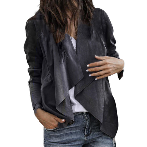 Long Sleeve Open Front Cardigan-This Fashion Woman