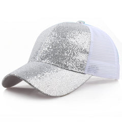 Ponytail Sequins Cap-This Fashion Woman