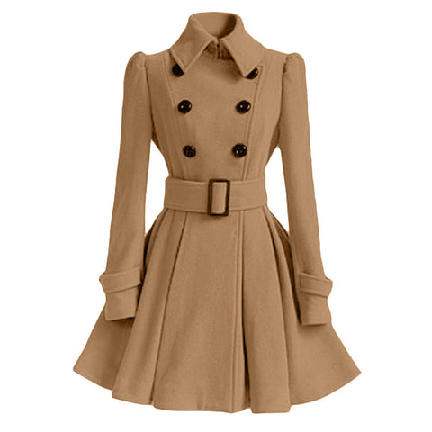 Woolen Parka Jacket-This Fashion Woman