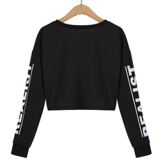 Fashion Crop Sweatshirt-This Fashion Woman