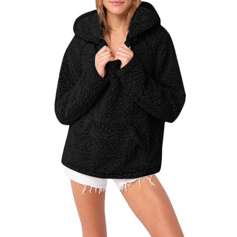 Casual Hooded Parka Sweater