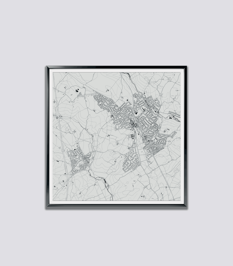 Custom Map Harpenden and Redbourn