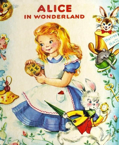 Alice In Wonderland Panel