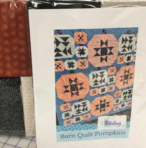 Barn Quilt Pumpkins Kit