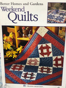 BHG WEEKEND QUILTS
