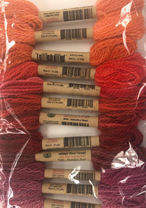 Bountiful Orchard Wool Thread Collection