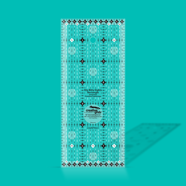 Itty-Bitty Eight Rectangle Ruler 3 x7