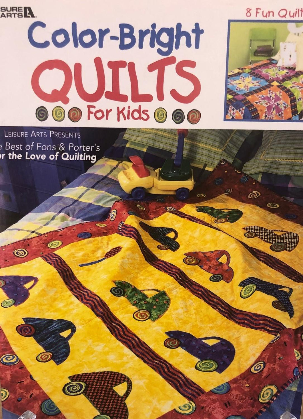 Color-Bright Quilts for Kids