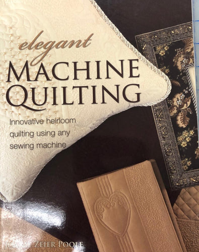 Elegant Machine Quilting