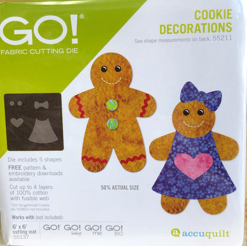Go! Cookie Decorations