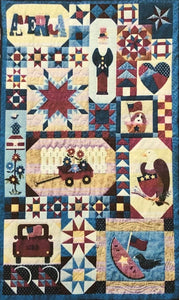 Patches of Americana Panel